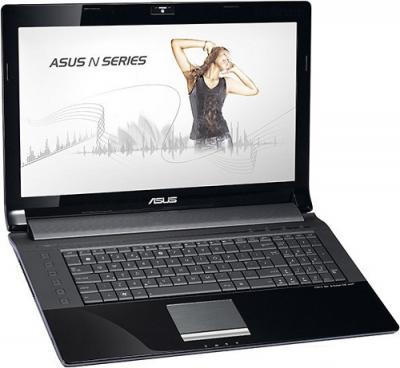 Ноутбук Asus N73SM-TZ073D - Вид спереди