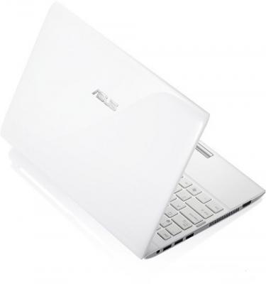 Ноутбук Asus Eee PC 1225C-WHI023W  - Вид сзади
