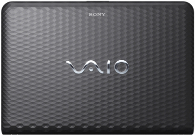 Ноутбук Sony VAIO VPCEH3M1R/B - крышка