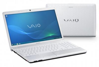 Ноутбук Sony VAIO VPCEH3P1R/W - два