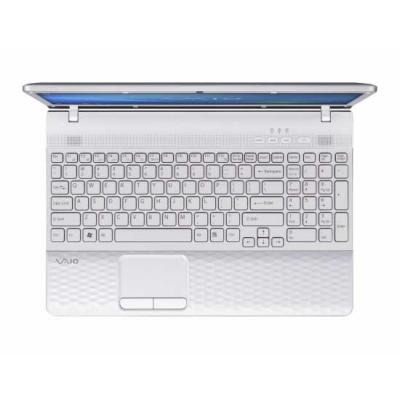 Ноутбук Sony VAIO VPCEH3P1R/W - сверху