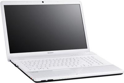 Ноутбук Sony VAIO VPC-EJ3M1R/W - Вид сбоку