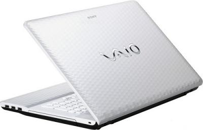 Ноутбук Sony VAIO VPC-EJ3M1R/W - Вид сзади