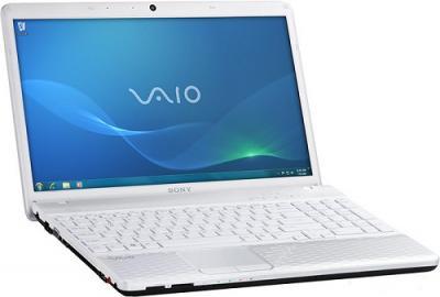 Ноутбук Sony VAIO VPC-EL3S1R/W - Вид сбоку