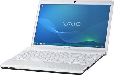 Ноутбук Sony VAIO VPC-EL3S1R/W - Вид сбоку 2
