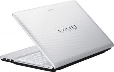 Ноутбук Sony VAIO VPC-EL3S1R/W - Вид сзади