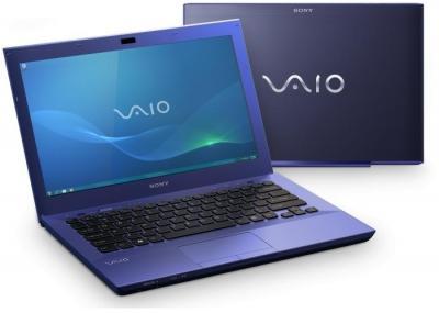 Ноутбук Sony VAIO VPC-SB4M1R/L - два