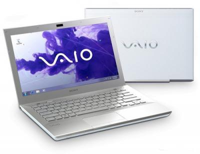 Ноутбук Sony VAIO VPCSB4M1R/W - Вид с двух сторон