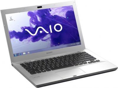 Ноутбук Sony VAIO VPCSB4V9R/S - открытый