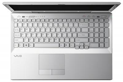 Ноутбук Sony VAIO VPCSB4V9R/S - сверху