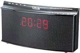 Радиочасы Vitek VT-3519  (Silver) - общий вид