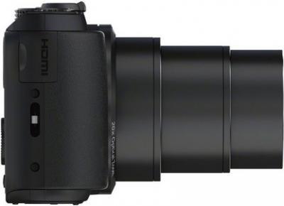 Компактный фотоаппарат Sony Cyber-shot DSC-HX20V (Black) - вид сбоку