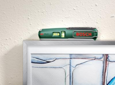 Уровень лазерный Bosch PLL 5 (0.603.015.020) - в работе