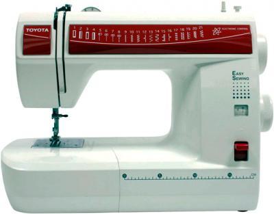 Швейная машина Toyota ES 121 - общий вид