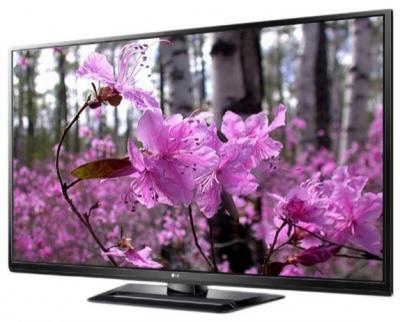 Телевизор LG 42PA4510 - вид сбоку