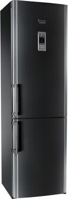 Холодильник с морозильником Hotpoint HBD 1201.3 SB F H - общий вид