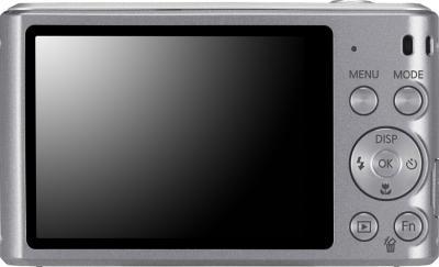 Компактный фотоаппарат Samsung ST66 (EC-ST66ZZBPSRU) Silver - вид сзади