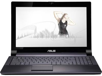 Ноутбук Asus N53SM-SX062D (90NBGC718W14526013AY) - спереди