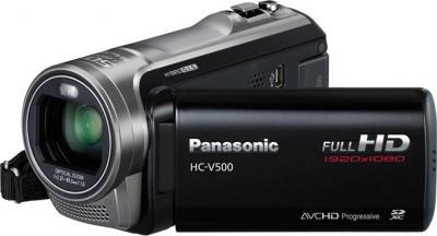 Видеокамера Panasonic HC-V500EE-K - общий вид