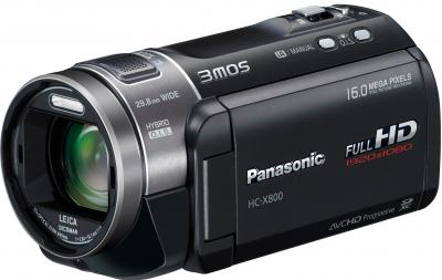 Видеокамера Panasonic HC-X800EE-K - общий вид
