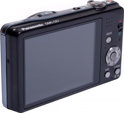 Компактный фотоаппарат Panasonic Lumix DMC-SZ7EE-K - общий вид