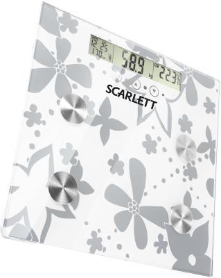 Напольные весы электронные Scarlett SC-216 Silver - общий вид