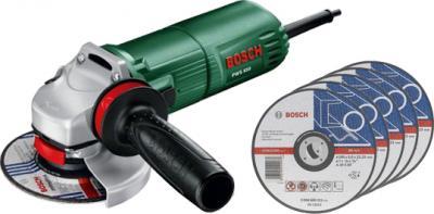 Угловая шлифовальная машина Bosch PWS 650 (0.603.411.020) - общий вид