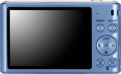 Компактный фотоаппарат Samsung ST66 (EC-ST66ZZBPURU) Blue - вид сзади