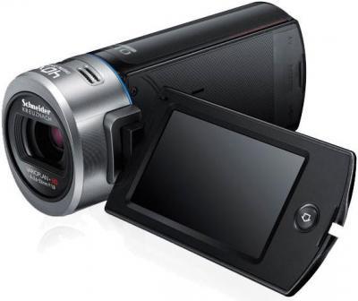 Видеокамера Samsung HMX-Q20BP - дисплей