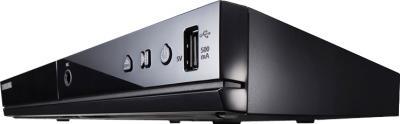 DVD-плеер Samsung DVD-E360K - кнопки управления и USB порт
