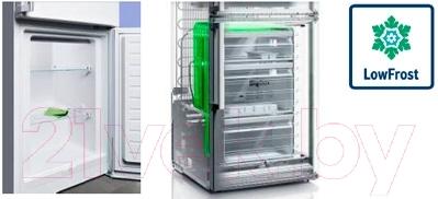 Холодильник с морозильником Bosch KGE36AI20R