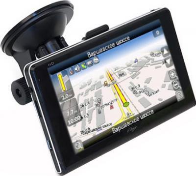 GPS навигатор Starway 5X new Навител Беларусь - вид сбоку