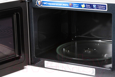 Микроволновая печь Samsung GE732KR - с открытой крышкой 1