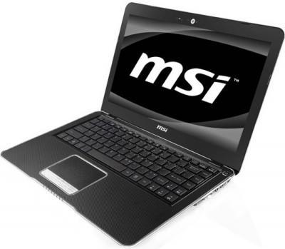 Ноутбук MSI X370-436XBY - общий вид
