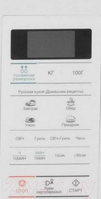 Микроволновая печь Samsung GE733KR-X - панель