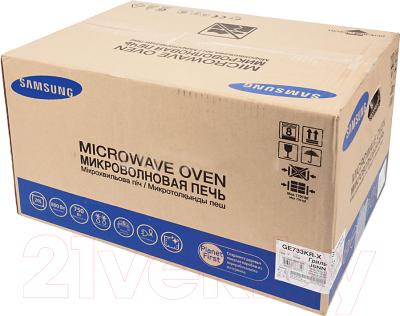 Микроволновая печь Samsung GE733KR-X - коробка