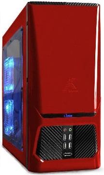 Системный блок MaxSelect арт.12A056-R - красная