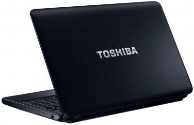 Ноутбук Toshiba Satellite C850-B7K - сзади