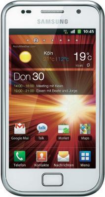 Смартфон Samsung I9001 Galaxy S Plus White (GT-I9001 RWDSER) - вид спереди