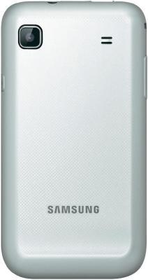 Смартфон Samsung I9001 Galaxy S Plus White (GT-I9001 RWDSER) - вид сзади