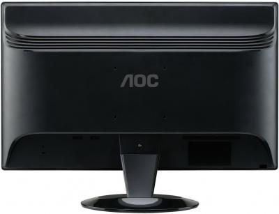 Монитор AOC 2436VWA - вид сзади