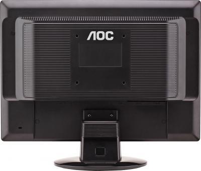 Монитор AOC 917SW+ - вид сзади