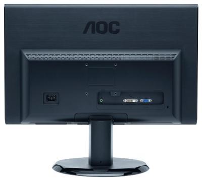 Монитор AOC E2450SWDA - вид сзади