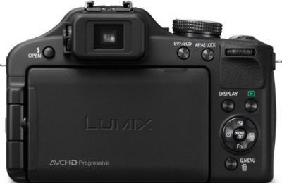 Компактный фотоаппарат Panasonic Lumix DMC-FZ150EE-K - вид сзади