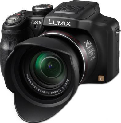 Компактный фотоаппарат Panasonic LUMIX DMC-FZ48EE-K - общий вид