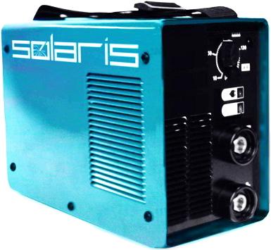 Инвертор сварочный Solaris MMA-205 + ACX - общий вид
