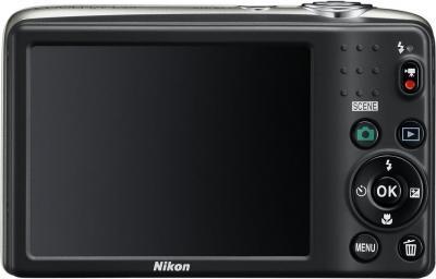 Компактный фотоаппарат Nikon Coolpix L25 Silver - общий вид