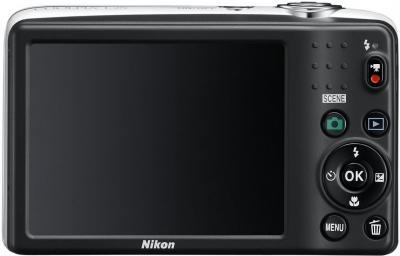 Компактный фотоаппарат Nikon Coolpix L25 White - общий вид
