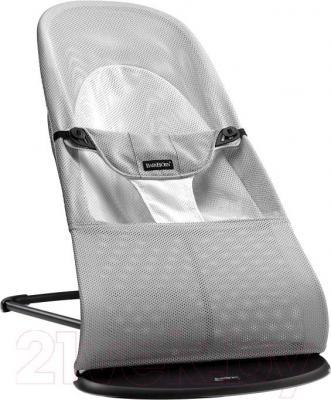 Детский шезлонг BabyBjorn Balance Soft Mesh 0050.29 (серебристо-белый) - общий вид