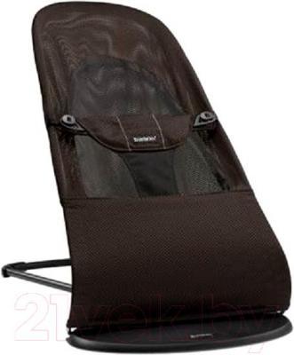 Детский шезлонг BabyBjorn Balance Soft Mesh 0050.06 (черно-коричневый) - общий вид